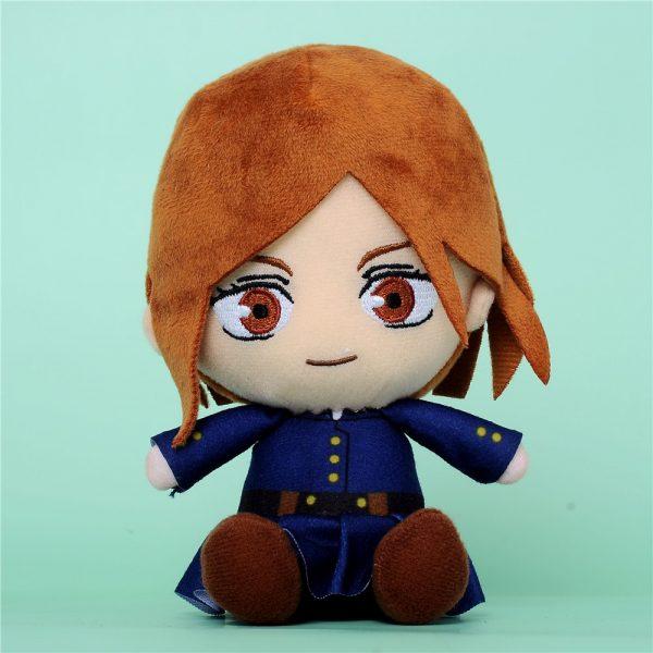Jujutsu Kaisen Kugisaki Nobara Toys Anime Plush Doll Stuffed Toy Key Ring Bagpack Phone Pendants Size 2 - Jujutsu Kaisen Shop