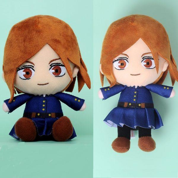 Jujutsu Kaisen Kugisaki Nobara Toys Anime Plush Doll Stuffed Toy Key Ring Bagpack Phone Pendants Size - Jujutsu Kaisen Shop
