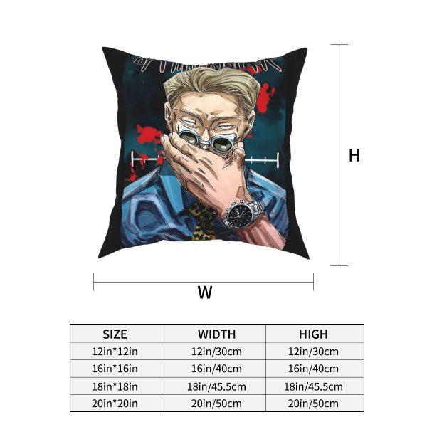 Manga Nanami Kento Jujutsu Kaisen Square Pillow Case Decorative Pillow Customized Cushion Covers 1 - Jujutsu Kaisen Shop