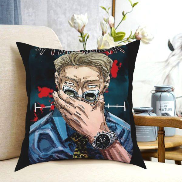 Manga Nanami Kento Jujutsu Kaisen Square Pillow Case Decorative Pillow Customized Cushion Covers - Jujutsu Kaisen Shop
