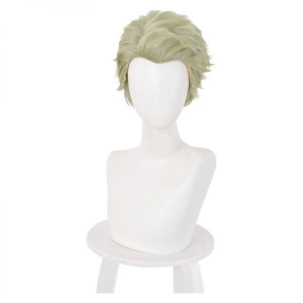 Nanami Kento Cosplay Wig Anime Jujutsu Kaisen Mixed Green Short Heat Resistant Synthetic Hair Halloween Party - Jujutsu Kaisen Shop