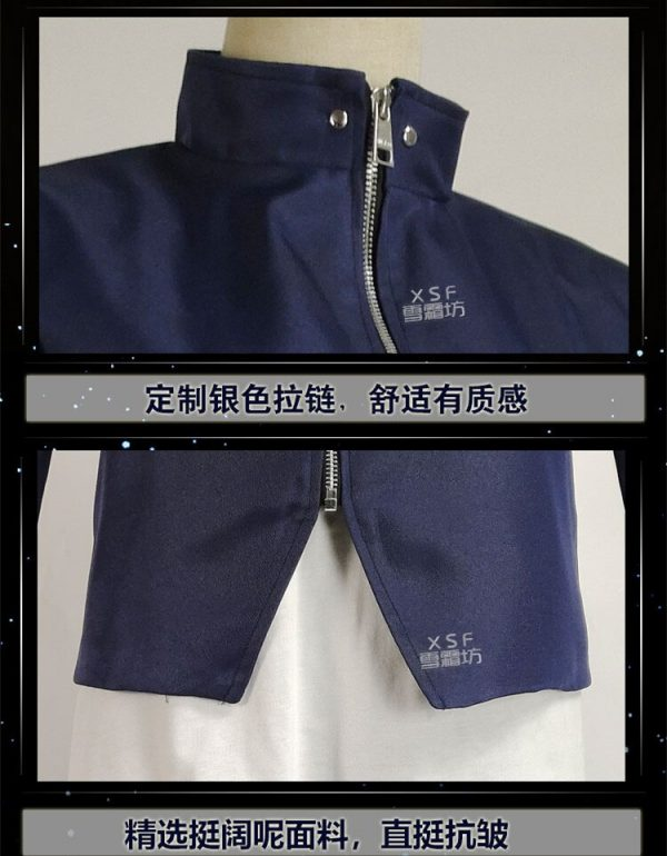 Yoshino Junpei Anime Jujutsu Kaisen Cosplay Costume Blue Black School Uniform Full Set Halloween Costumes Fancy 4 - Jujutsu Kaisen Shop