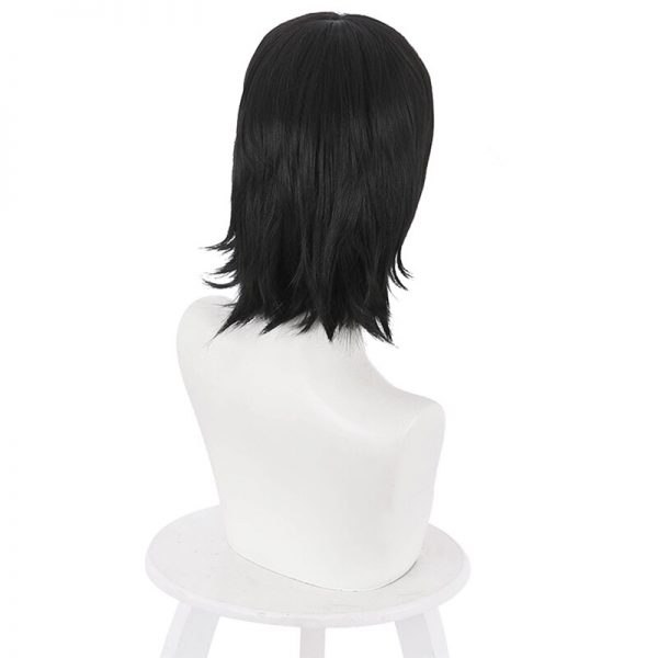 Yoshino Junpei Cosplay Wigs Anime Jujutsu Kaisen Black Heat Resistant Synthetic Hair Wig Pelucas 4 - Jujutsu Kaisen Shop