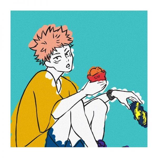 Anime Jujutsu Kaisen Poster Comic Figures Yuji Itadori Fushiguro Megumi Wall Art Painting Comic Exhibition Home Decor 29x42cm
