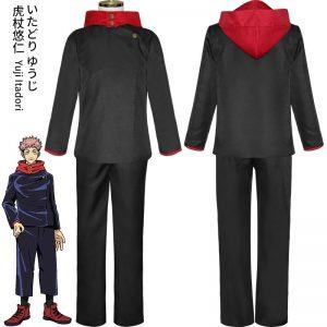 Jujutsu Kaisen Cosplay Costume Jujutsu Kaisen Yuji Itadori Nobara Kugisaki Megumi Fushiguro Ryomen Sukuna Kimono Uniform Wigs